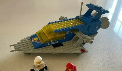 £80 • Buy Vintage Lego 924 Classic Space Cruiser & Fork Lift Complete & Mini Figures