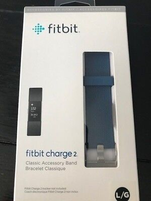 $ CDN12.45 • Buy FitBit Charge 2 Classic Band, Replacement Band, Blue, Large