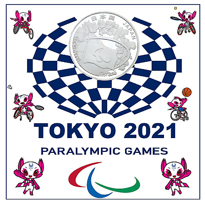 £9.99 • Buy 2020 Tokyo Paralympics Games Coin+2021paralympic Display Card (brand New)