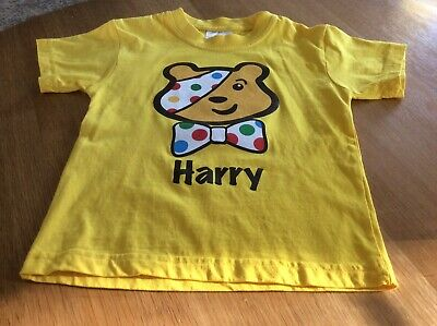 £1.99 • Buy Children In Need - Pudsey T-Shirt - Age 3/4 - Yellow