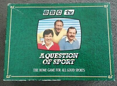 £23 • Buy Question Of Sport Board Game Mint Condition Used Once Complete Inc Tyson Card