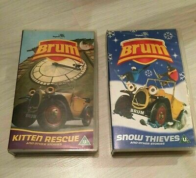 £18 • Buy Brum - Kitten Rescue & Other's  Also Snow Thieves & Other Stories -