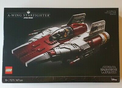 £140 • Buy Lego Star Wars A-Wing Starfighter (75275) - Unopened Set, Perfect Condition