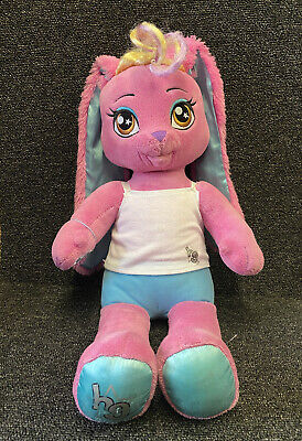 £8.99 • Buy Build A Bear Rabbit Honey Girls Risa Soft Plush Toy 18  With Clothes
