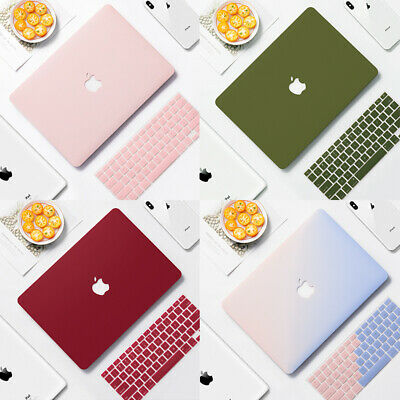 $17.99 • Buy Rubberized Matte Case Cover For Apple MacBook Air Pro Retina + Silicone KB Cover