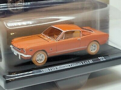 $15.50 • Buy M2 Machines 1966 Ford Mustang Fastback 2+2 GT Auto Drivers Orange Chase 1 Of 750