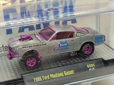$120.50 • Buy M2 Machines Fanta 1966 Ford Mustang Gasser Raw Super Chase 1 Of 250 Pieces
