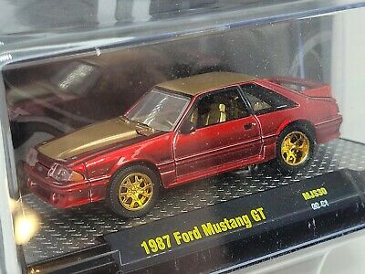$39.57 • Buy M2 Machines 1987 Ford Mustang GT Super Chase Fox Body Red 1 Of 300