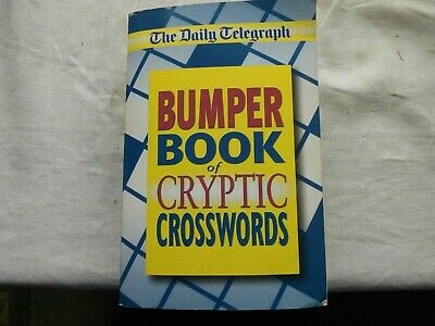 £4.99 • Buy 2003 Daily Telegraph Bumper Book Of Cryptic Crosswords