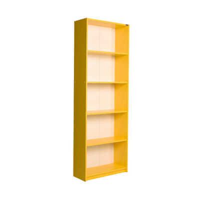£34.99 • Buy Large Tall 5 Tier Bookcase Shelving Unit Storage Office Living Room Furniture