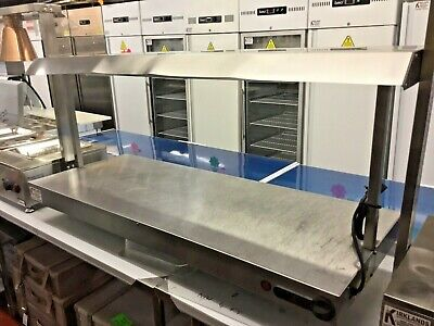 £324.99 • Buy 1.35m Parry Heated Carvery Display Hot Plate Quartz 3 Lamp Gantry Catering