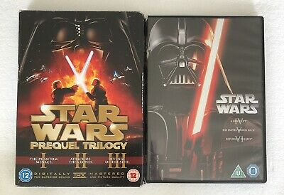 £9.95 • Buy Star Wars Episodes 1-6 (DVD Collection) 2 Box Sets