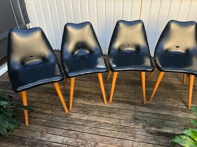 AU2200 • Buy Mid Century - Featherston D350 Dining Set Of 4 Chairs