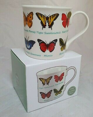 £6.99 • Buy Fine China Butterfly Mug Cup Gift Boxed Mothers Day Birthday Lesser & Pavey