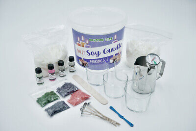 £8.99 • Buy SOY Candle Making Kit Complete HUGE Kit With Wax, Fragrances, Colours And More!