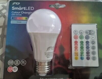 £1.20 • Buy BRAND NEW TCP Smart LED Colour Changing Bulb With Remote Control - ES27