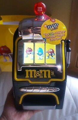 £88.73 • Buy M&M's World Slot Machine Chocolate Candy Candies Dispenser New With Tags