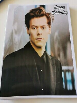 £3.99 • Buy Harry Styles, One Direction Birthday Card