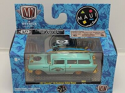 $15.50 • Buy M2 Machines Maui And Sons 1957 Chevrolet 150 Handyman Station Wagon Chase