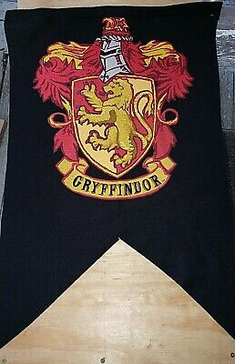 $ CDN18.27 • Buy Discontinued Harry Potter Rare Gryffindor Banner Flag By Rubies!