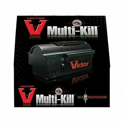 £110.02 • Buy Victor® Multi-kill™ Electronic Mouse Mice Trap M260 + Free Batteries!
