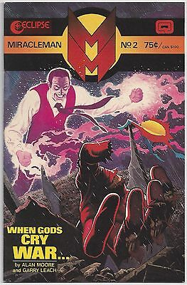 £6.39 • Buy Miracleman #2 (Oct 1985, Eclipse) Moore / Leach [When Gods Cry War...] VF/NM
