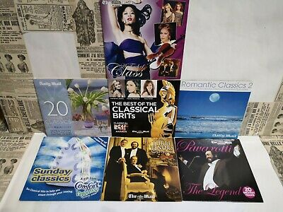 £6 • Buy Daily Mail & Mail On Sunday Classical Cds X 7 ( Mixed Artists)