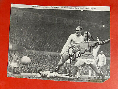 £24.99 • Buy Dennis Law- Manchester Utd Signed Picture