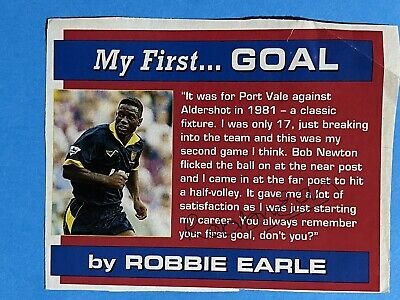 £0.99 • Buy Robbie Earle- Wimbledon Footballer Signed Picture