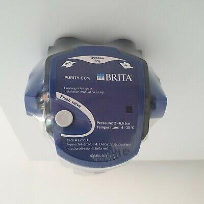 """£8.75 • Buy Brita Professional Purity C Filter Head G3/8"""" Connection Fixed 0% Bypass Setting"""