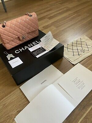 £2299.99 • Buy Chanel Classic Patent Bag Pink