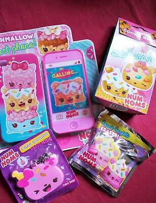 £2.50 • Buy NumNoms Party Pack Game/pass The Parcel Prizes: 4x Toy And Stationery Sets
