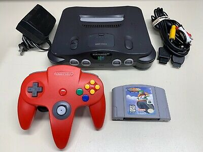 $ CDN94.13 • Buy Nintendo 64 N64 Console System W/ Controller & Cables + Game *FULLY FUNCTIONAL*
