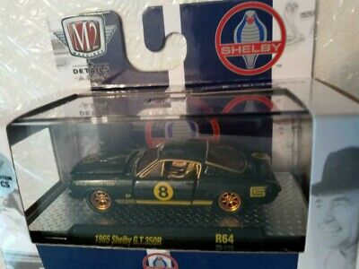 $24.99 • Buy 2021 M2 Machines Gold Chase 1of 750 1965 Shelby Mustang G.T. 350R
