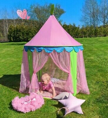 £19.49 • Buy Kids Fairy Princess Castle Play House Toy Tent Pops Up Tent Indoor Outdoor Gifts