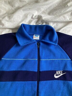 £5 • Buy Vintage 1970s Nike Track Top Size Xs