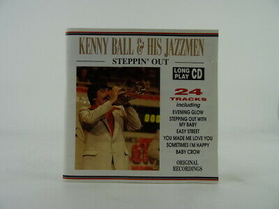 £5.25 • Buy KENNY BALL AND HIS JAZZMEN STEPPIN' OUT (1) Promo CD Album CASTLE COMMUNICATION