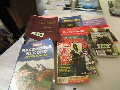 £1.50 • Buy Horse Racing Jumps Form Books 1996-99