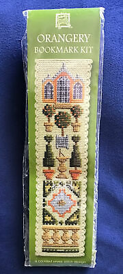 £1.50 • Buy New Complete Orangery Bookmark Counted Cross Stitch Bookmark Kit
