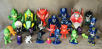 $39.95 • Buy PJ Masks Action Figures Assorted Toys Lot (29 Pieces) W/ Accessories + Vehicles