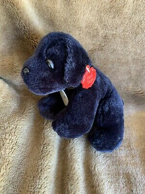 £12 • Buy KEEL TOYS SIMPLY SOFT COLLECTION EBONY PLUSH SOFT TOY PUPPY With Tag