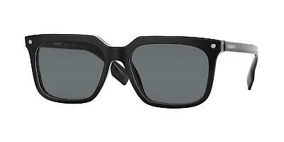 $142.47 • Buy NEW Burberry 4337F Carnaby Sunglasses 379887 Black 100% AUTHENTIC
