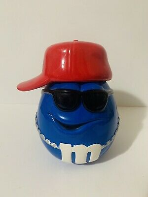 $25 • Buy M&Ms Galerie Candy Cookie Jar  Blue M&M Baseball Player