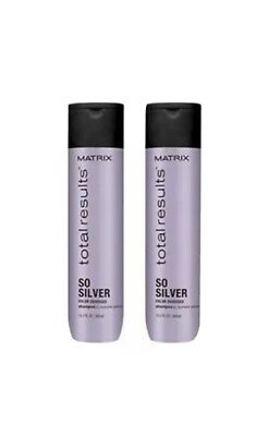 £17.46 • Buy NEW! Matrix Total Results So Silver Color Obsessed  Shampoo 10.1oz (2 PACK)