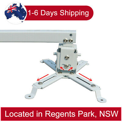 AU37.18 • Buy Adjustable LCD LED DLP Projector Bracket Ceiling Wall Mount Stand Extension Bar