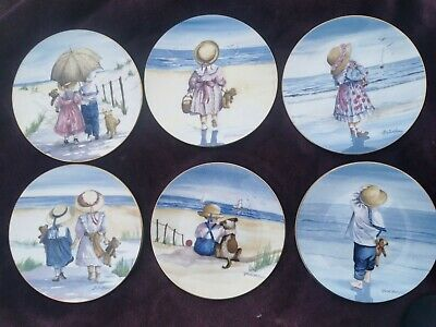 £1.99 • Buy Royal Worcester Set Of 6 Decorative Plates From The  One Glorious Summer ...