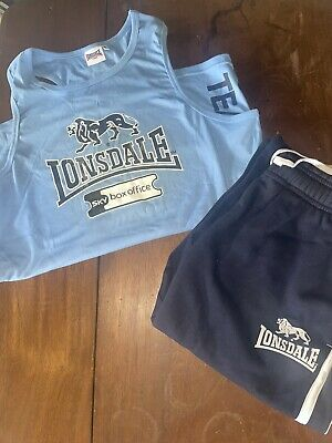 £9 • Buy Mens Medium Shorts And Vest Top Lonsdale