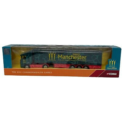 £24.99 • Buy Corgi 1/64 Scale CC86612 Scania Curtainsider Commonwealth Games Manchester 2002