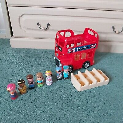 £9.99 • Buy Elc Happyland Big London Bus With 7 Figures Excellent Used Condition Sounds L@@k