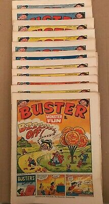 £4 • Buy BUSTER 1970s Comics Collection X 11